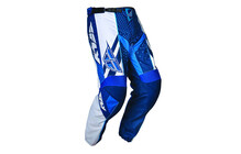 Fly Racing F16 Pantalon homme bleu/blanc